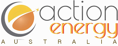 Solar Power Energy Systems by Action Energy Logo